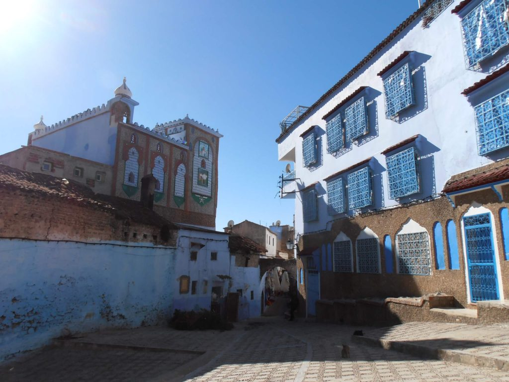 chefchaouen città blu del marocco