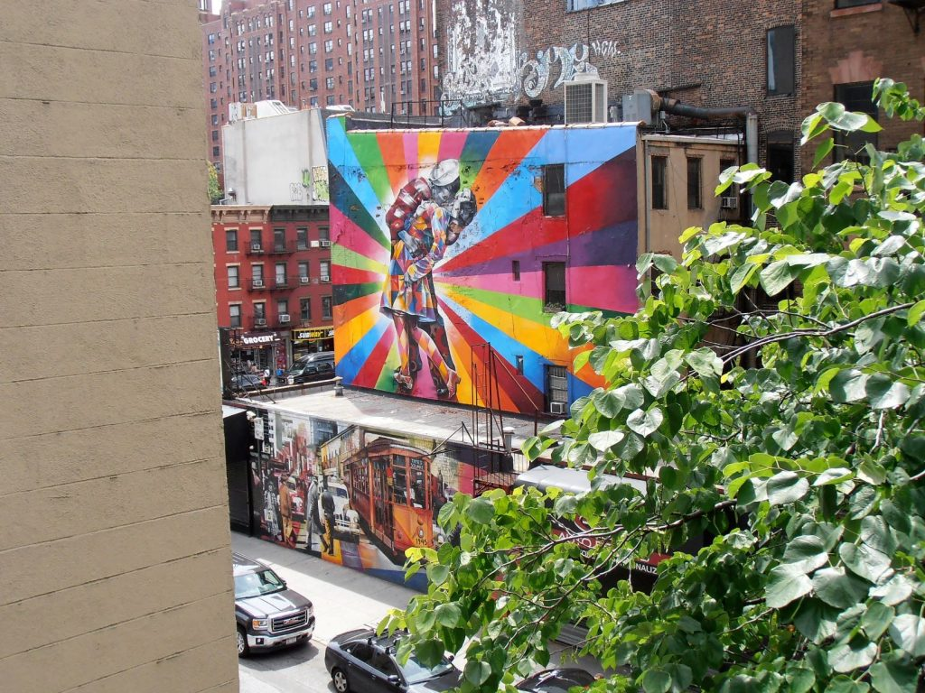viaggio a new york high line