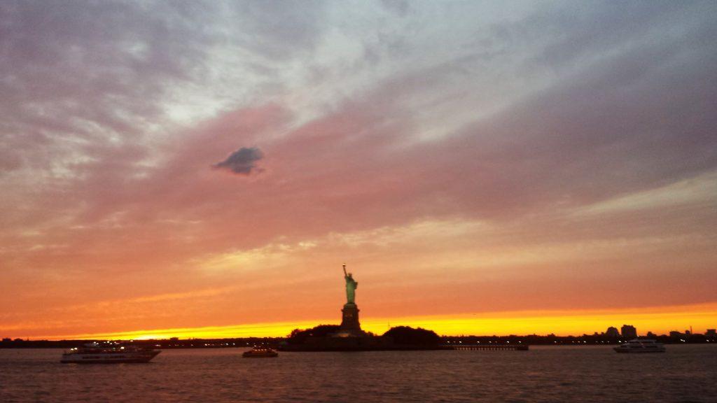 viaggio a new york statua della libertà