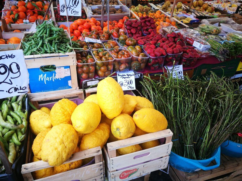 itinerario a piedi palermo mercato del capo