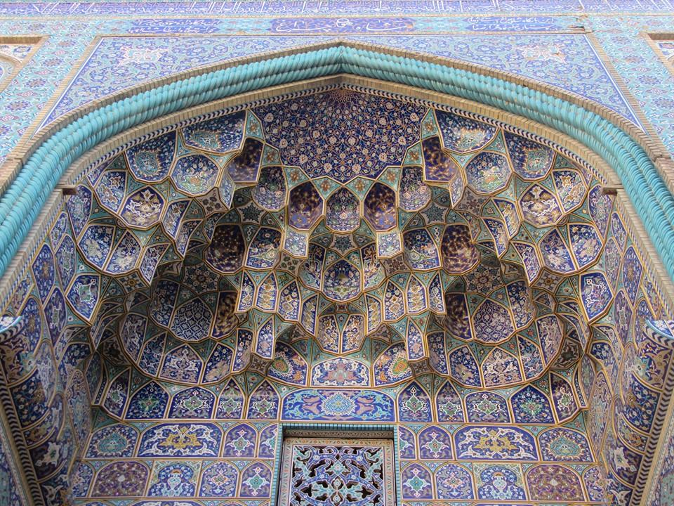 perchè andare in iran isfahan dettaglio