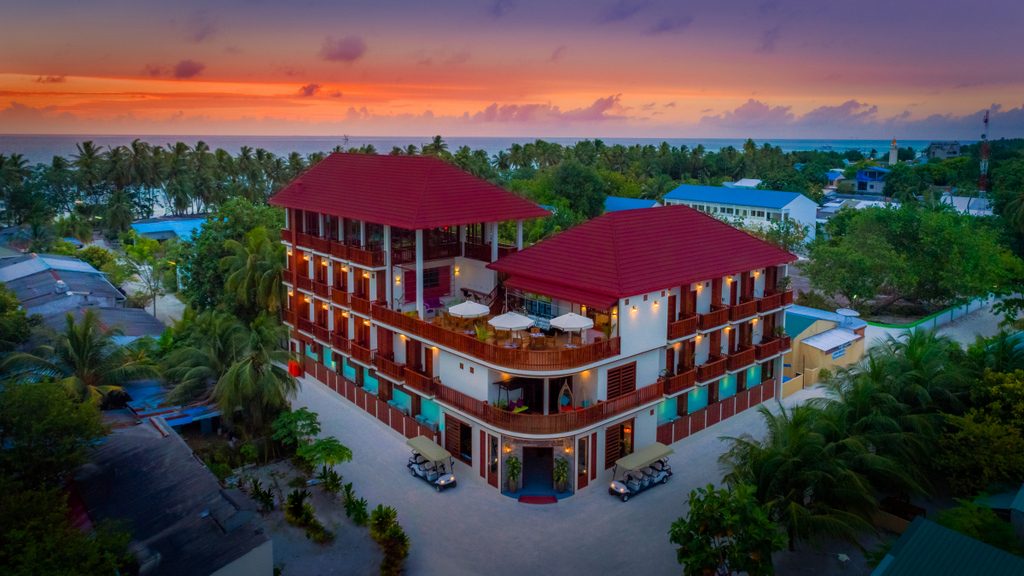 maldive low cost guest house