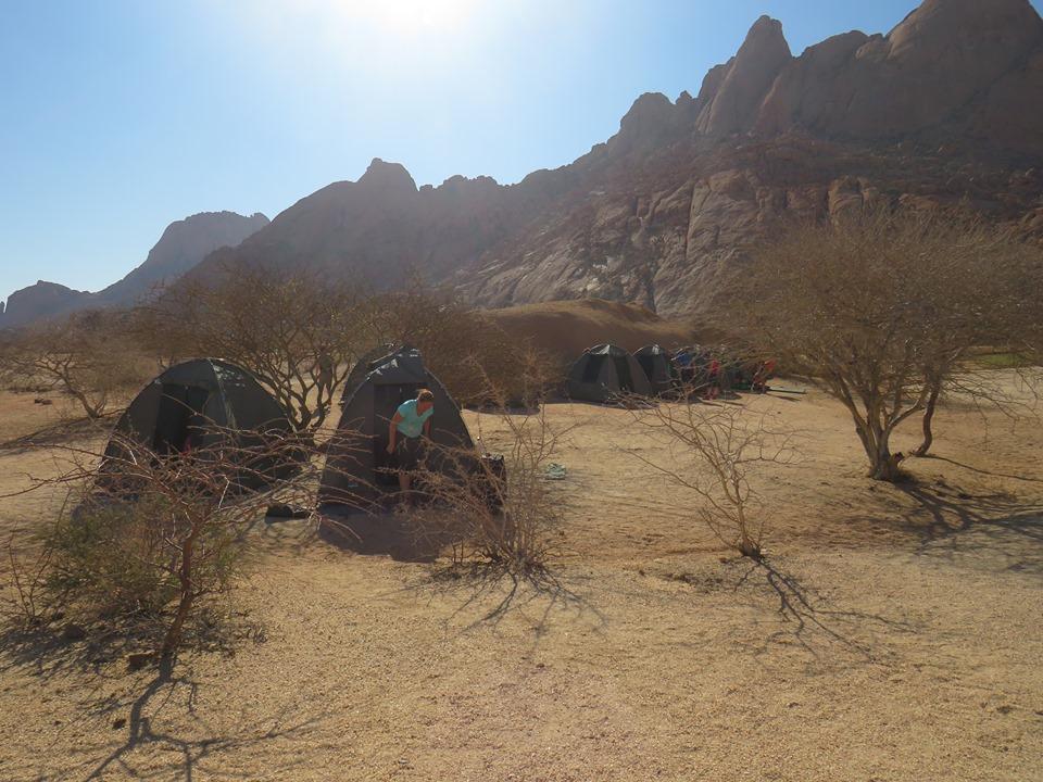 Namibia in tenda