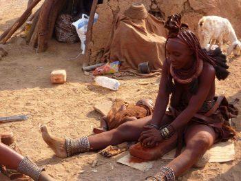 himba etnie in namibia