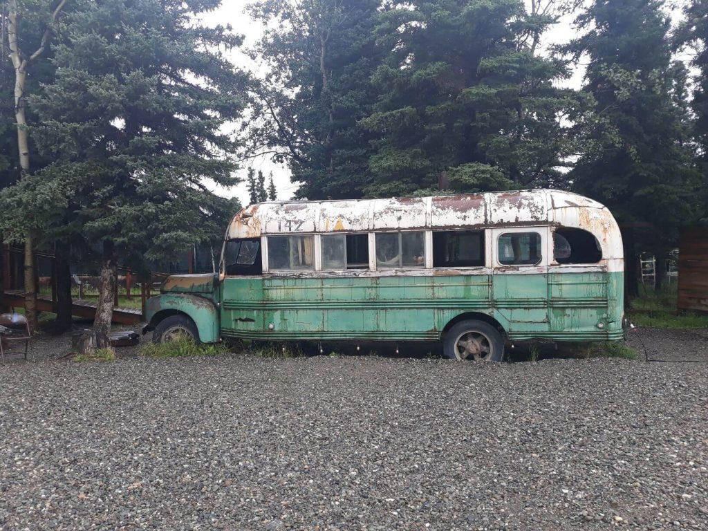 location dei film into the wild bus
