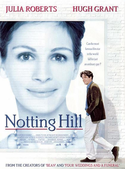 notting hill luoghi dei film