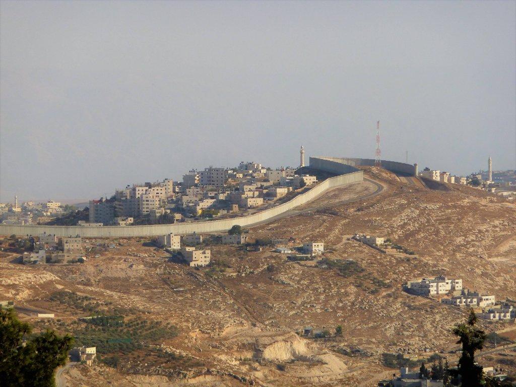 muro territori palestinesi