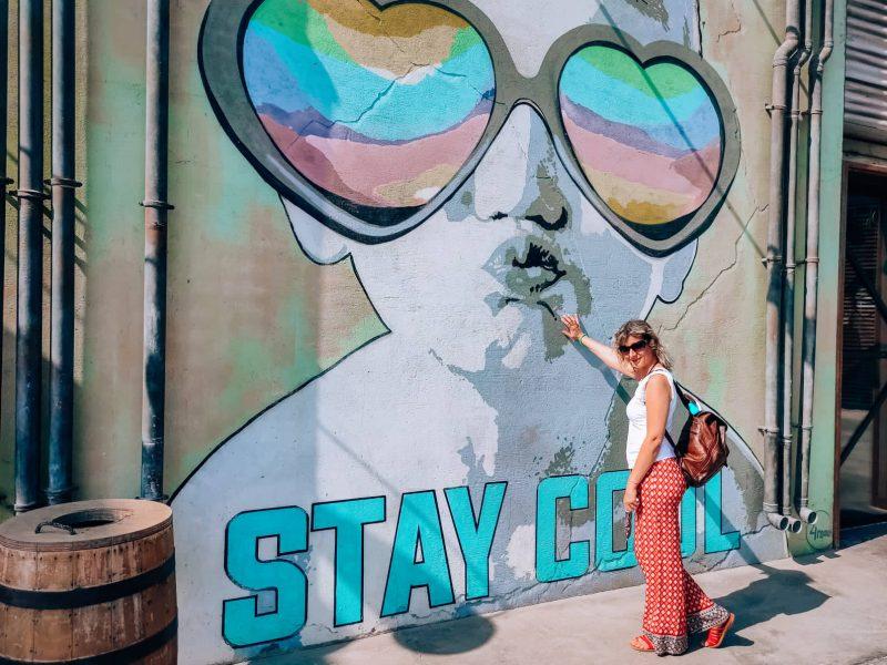 dove passeggiare a dubai street art