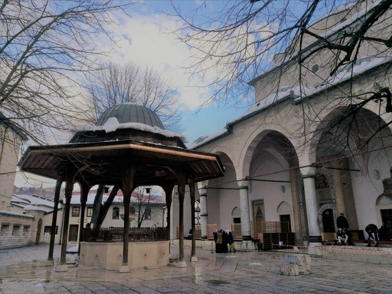 sarajevo cosa fare moschea