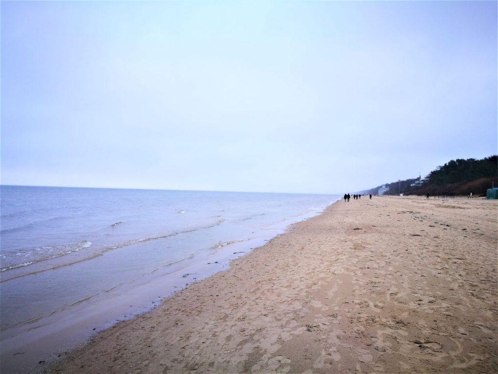 jurmala spiaggia baltico