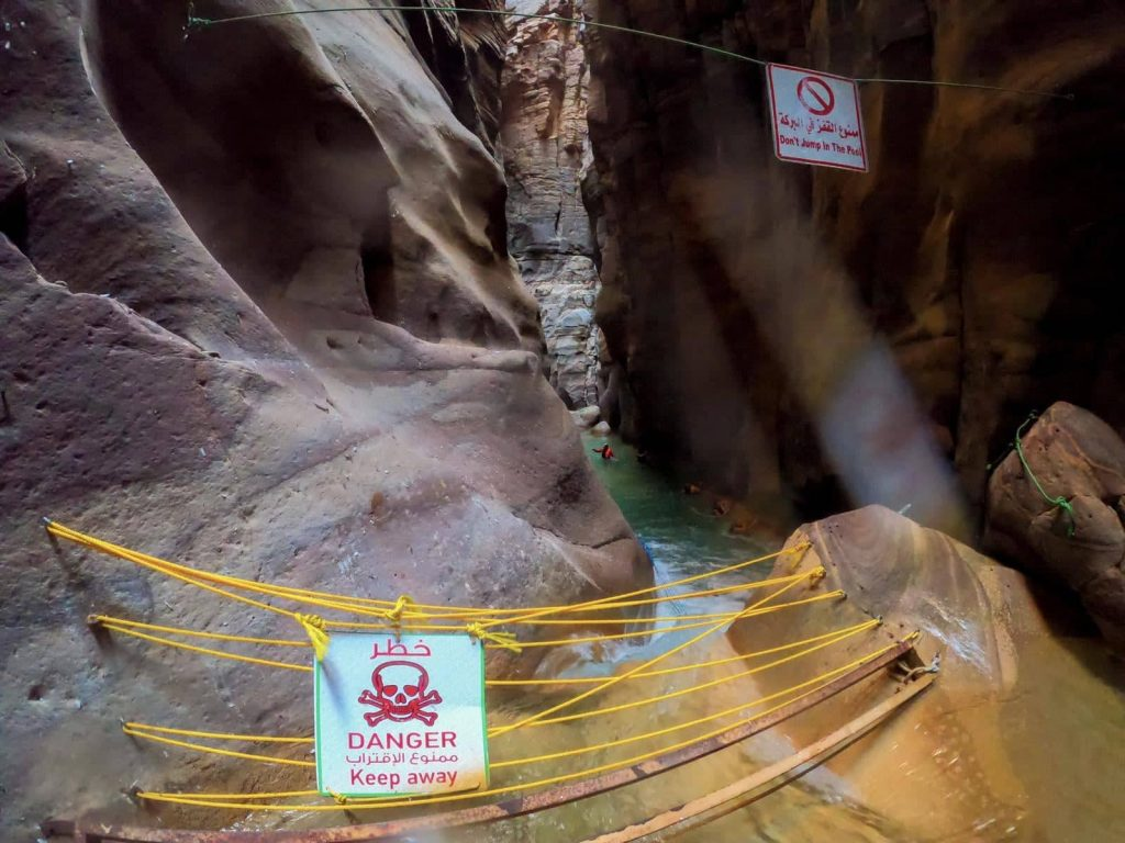 canyon giordania wadi mujib